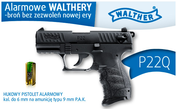 Walther P22Q gázpiszoly