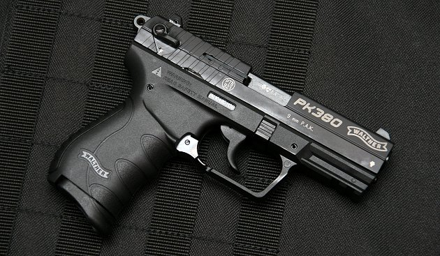Walther PK380 gázpisztoly